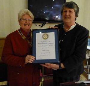 Laurencekirk Rotary Community Service Award