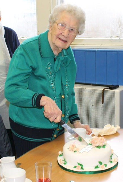 Mrs Eveline Hulton 95th birthday
