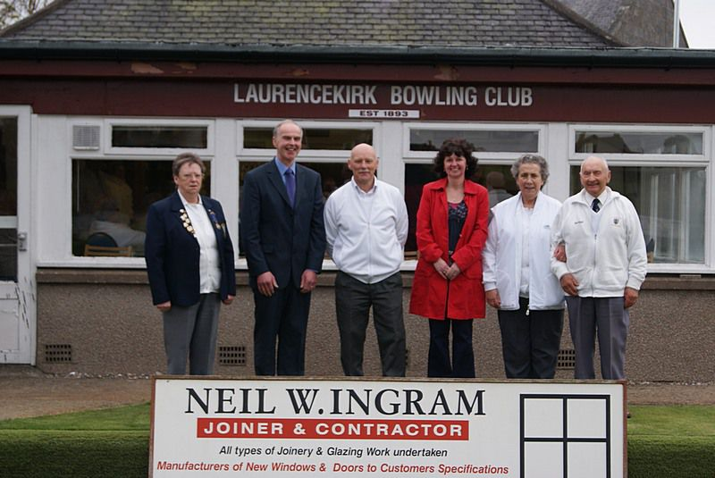 Laurencekirk Bowling Club Open Mixed Triple Winners photo